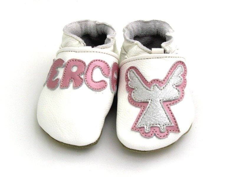 Slippers for Baptism with Name
