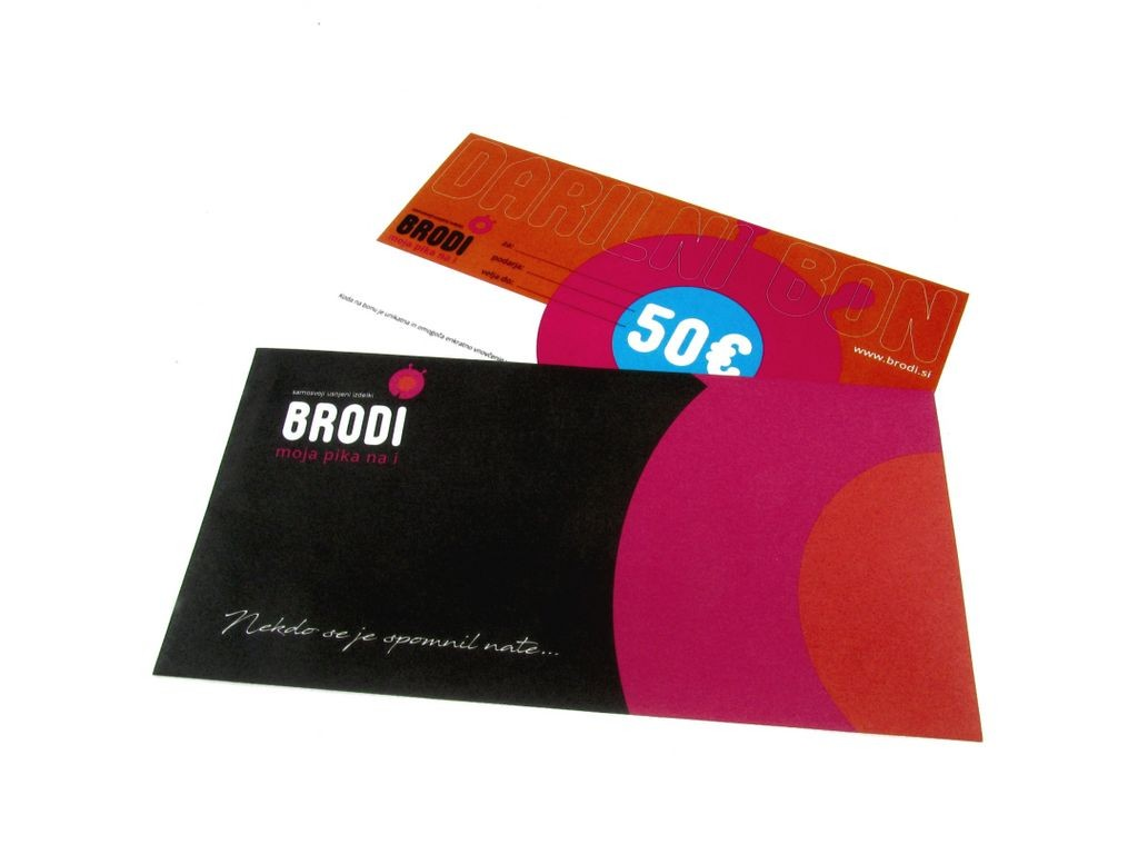 Gift Card Brodi for 50,00 €