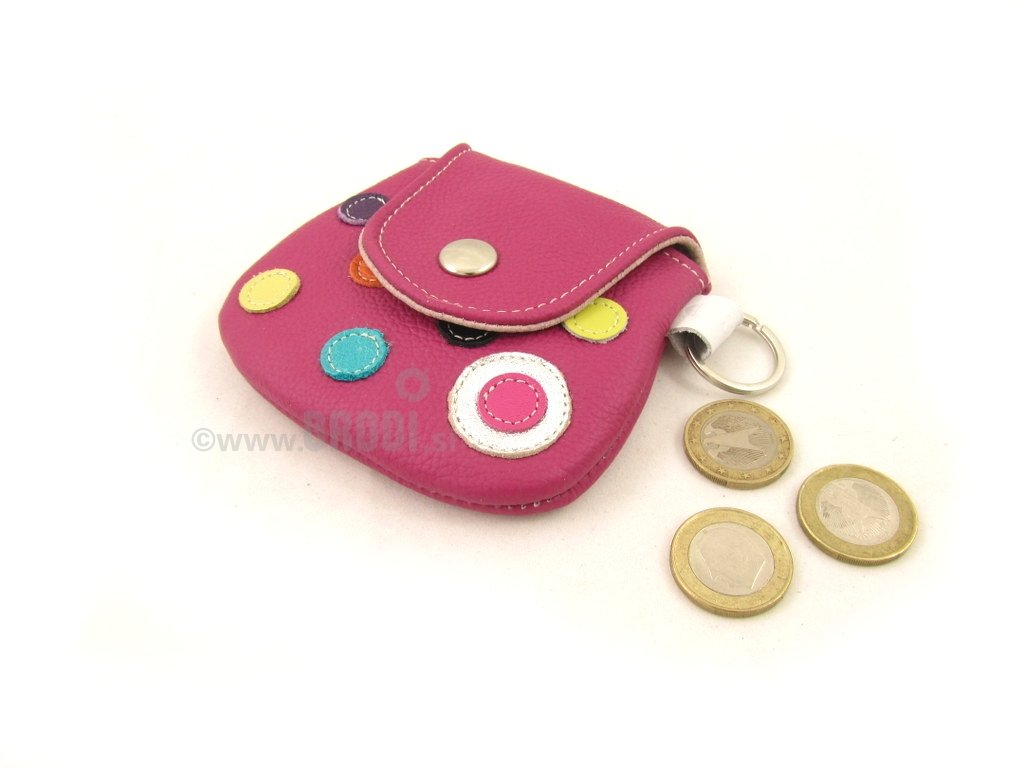 Coin Purse with Dots