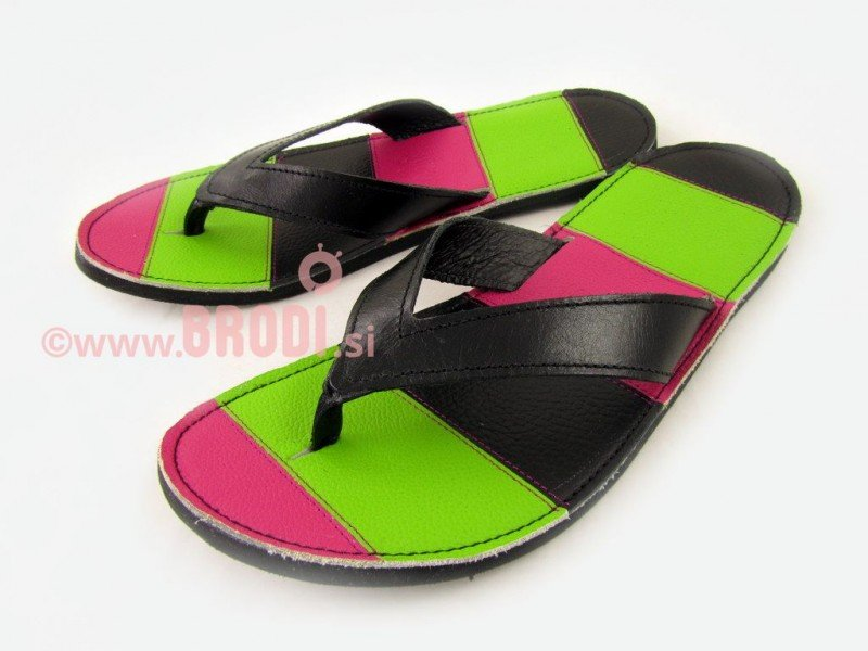 Flip-flops Mimi Black and Pink