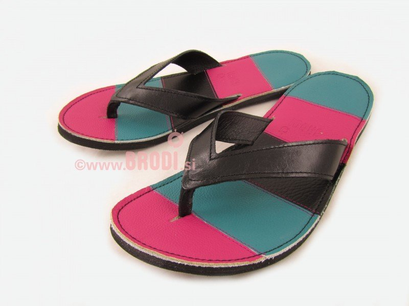 Flip-flops Mimi Pink and Blue