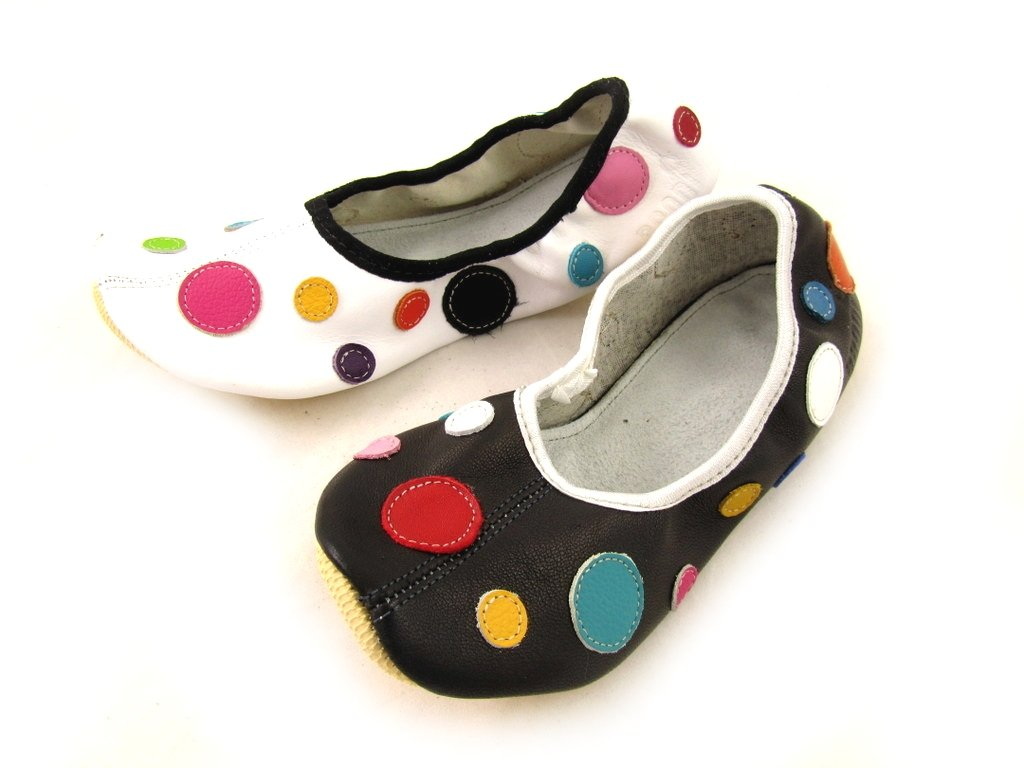 School Slippers with Dots