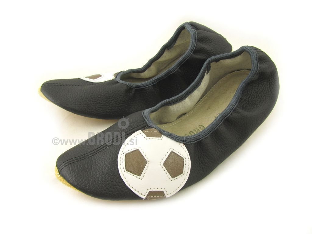 School Slippers with Ball