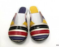 Ballerina Shoes Gaja Silver and Colours
