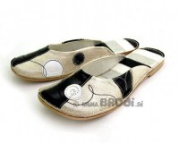 Ballerina Shoes Gaja Silver Black