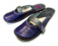 Ballerina Shoes Gaja Violet with Strap
