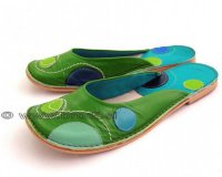 Ballerina Shoes Gaja Green