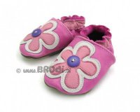 Brodies Pink Flower and Button