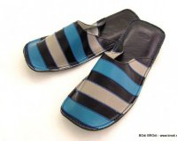 Gal Dark Blue with Stripes