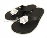 Flip-flops Mimi Black Different Decorations