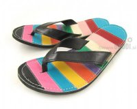 Flip-flops Mimi Colourful with Black Straps