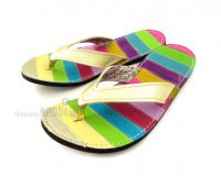 Flip-flops Mimi Colourful with Beige