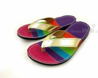 Flip-flops Mimi Colourful with Pink and Violet
