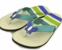 Flip-flops Mimi Beige with Butterfly