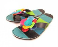 Flip-flops Rozi Blue and Black