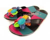 Flip-flops Rozi Black and Blue