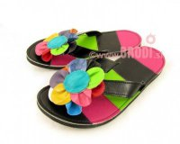 Flip-flops Rozi Black and Pink