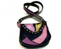 Handbag Julija Blue and Violet