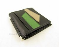 Wallet Jon Black and Green