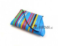 Little Purse Blue with Stripes