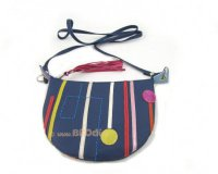 Handbag Mini Blue with Stripes