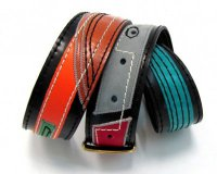 Leather Belt Colourful