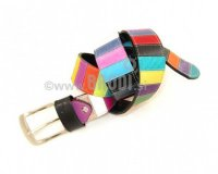 Leather Belt Kiri Colourful more and more