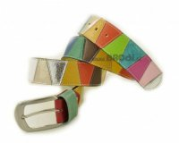 Leather Belt Kiri Colourful