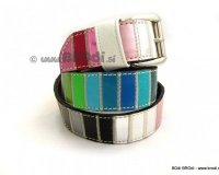 Leather Belt Kiri Colourful Rank