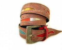 Leather Belt Kiri Brown