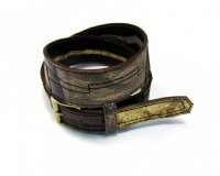 Leather Belt Kiri Different Brown
