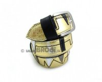 Leather Belt Kiri Gold