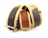 Leather Belt Kiri Light Brown