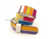 Leather Belt Kiri Mixed