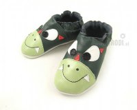 Brodies Green Dragon Slippers